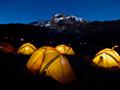 キリマンジャロとテント・キャンプ