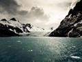 氷山のパノラマ