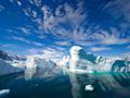 青空と氷山