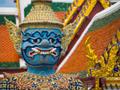 エメラルド寺院ヤクシャ像(タイ)