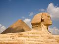 スフィンクスの横顔(エジプト)