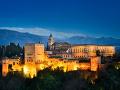 アルハンブラ宮殿夜景(スペイン)