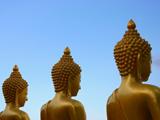 チェンライの仏陀像(タイ)